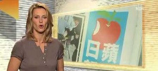 Nachrichten als Trickfilme aus Taiwan