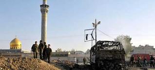 Furcht vor der Irakisierung Syriens