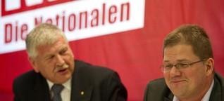 NPD will im Wahlkampf Talkshows stören