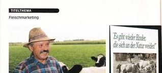 Reportage über Biofleisch Metzger Thönes