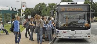 Spardorf: Überfüllte Busse oder optimale Situation? - Erlangen - nordbayern.de