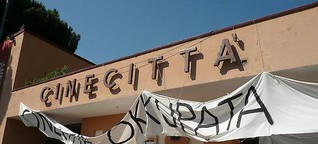 Kultur: Filmschaffende demonstrieren nach Brand in Cinecittà