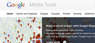 Googles Werkzeugsammlung für Journalisten