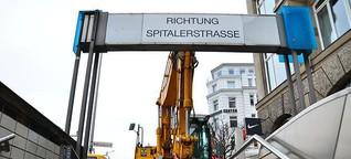 Hauptbahnhof: Tunnel zur Spitalerstraße wird geschlossen | Mittendrin | Das Nachrichtenmagazin für Hamburg-Mitte