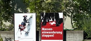 Volksabstimmung in der Schweiz: Zuwanderung auf Zuteilung