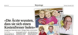 Reportage aus der Kinderklinik – Gesundheitspolitik