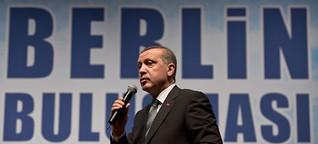 Erdogan auf Wahlkampftour in Berlin
