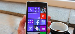 Nokia Lumia 1520 im Test: Windows Phone 8 ganz groß