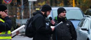 NPD hält störungsfreie Kundgebung in Potsdam ab