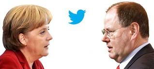 Merkel vs. Steinbrück - Auf dem Weg zur Postdemokratie?