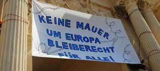 """""""Keine Mauer um Europa - Bleiberecht für alle!"""" - Kundgebung in Potsdam"""