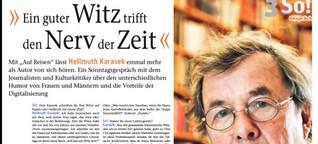 Interview mit Hellmuth Karasek