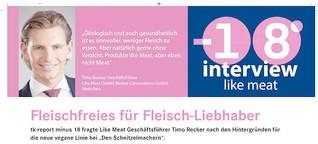 Fleischfreies Genießen - Interivew mit Timo Recker