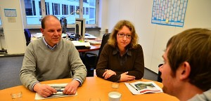 Flüchtlinge in Billstedt: Kerstin Gröhn (SPD) und Michael Osterburg (Grüne) im Interview | Mittendrin | Das Nachrichtenmagazin für Hamburg-Mitte