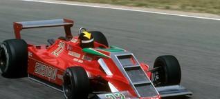 Formel-1-Stilkritik - Niki Lauda in der rollenden Zigarettenschachtel