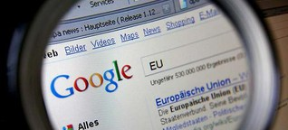 """Google und das """"Recht auf Vergessen"""": Gelöscht - und gut?"""