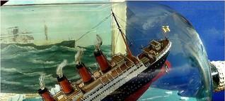 Modellbau mit Flasche: ...und eine Buddel voll Schiff!