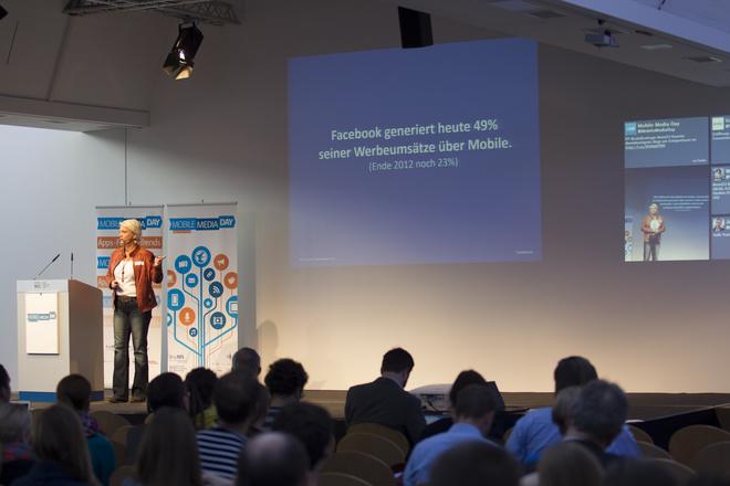 Keynote beim 1. Mobile Media Day