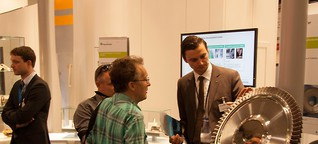Triebwerk aus dem 3D-Drucker? Innovationscluster AdaM auf der ILA Berlin
