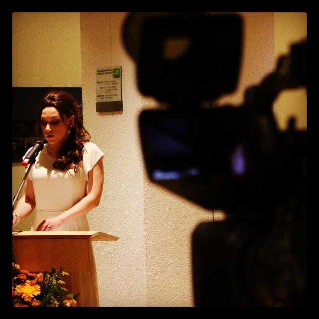 Vortrag bei der Eröffnung der Tunesischen Woche 2014 - Stuttgarter Rathaus