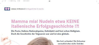 Mamma Mia Nudeln etwa KEINE italienische Erfolgsgeschichte!?!