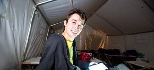 Reporter im Selbstversuch: Meine Nacht im Camp der Gamer