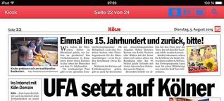 UFA setzt auf Kölner Internet-Boom