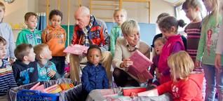 Kinder aus drei Bonner Kitas freuen sich über frühes Weihnachtsgeschenk