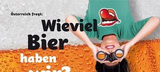Wie viele Biersorten gibt es in Österreich