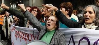 Putzfrauen-Bewegung in Griechenland