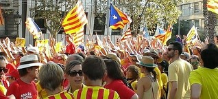 Die Katalanen und das schottische Nein