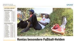 Kenias besondere Fußball-Helden