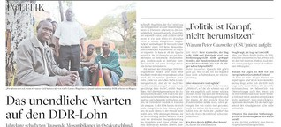 Das unendliche Warten auf den DDR-Lohn