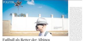 Fußball als Retter der Albinos