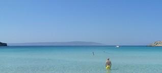 Griechisches Paradies im Schatten des Baggers