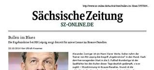 RB Leipzig: Bullen im Blues