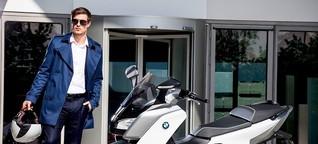 BMW C evolution: Still mit Stil - Drei Outfits, drei Anlässe, ein Roller - GQ testet den BMW C evolution