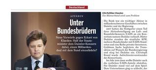 Unter Bundesbrüdern