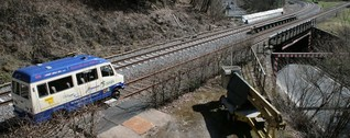 Radweg statt Schienentaxi