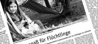 Ferienspaß für Flüchtlinge