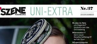 SZENE HAMBURG Uni-Extra 2014/15