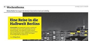 Der Freitag: Eine Reise in die Halbwelt Berlins