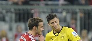 DFB-Pokal-Finale 2014: Robert Lewandowski vor dem Wechsel zum FC Bayern München