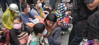 Bürgerproteste gegen Taiwans Regierung