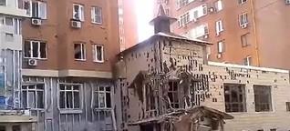 """Ukraine: """"Die Menschen gewöhnen sich an alles, auch an Krieg"""""""
