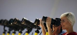 Neue Systemkameras: Die Besser-Knipsen von der Photokina • SPIEGEL ONLINE