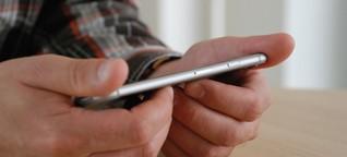 Verbiegt sich Apples neues iPhone?