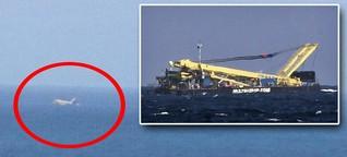 Abgestürztes Flugzeug vor Gran Canaria war nur ein Schiff: Optische Täuschung mit großen Folgen - RTL.de