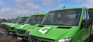 Wiesbadener Gartenbauer setzt auf Transporter von Mercedes