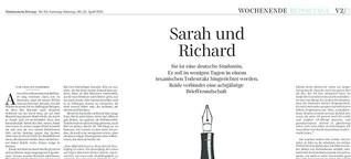 Sarah und Richard